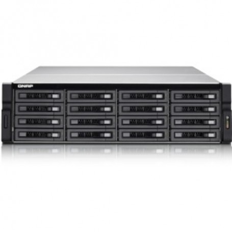 QNAP 16-bay High Performance Unified Storage with Built-in 10GbE - Intel  Xeon Quad-core (4 Core) - 4 GB RAM DDR3 SDRAM