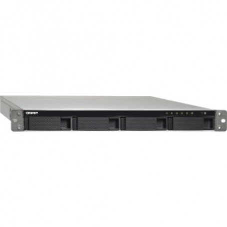 QNAP Turbo NAS SAN/NAS Storage System - Intel Celeron J3455 Quad-core (4 Core) 1.50 GHz - 4 x HDD Supported