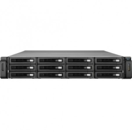 QNAP REXP-1220U-RP Drive Enclosure - 2U Rack-mountable - 12 x HDD Supported - 12 x SSD Supported