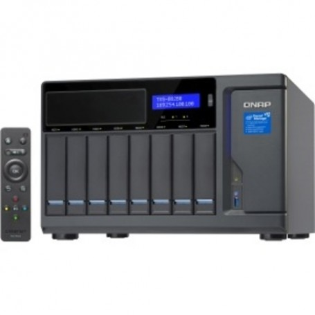 QNAP Turbo vNAS SAN/NAS Storage System - Intel Core i7 i7-7700 Quad-core 3.60 GHz - 8 x SSD Supported - 32 GB
