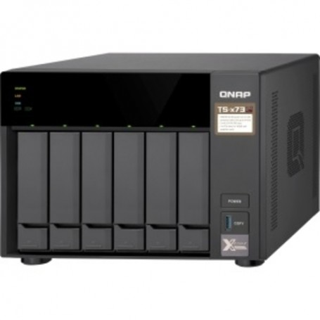 QNAP SAN/NAS Storage System - AMD R-Series RX-421ND (4 Core) 2.10 GHz - 8 x SSD Supported - 4 GB
