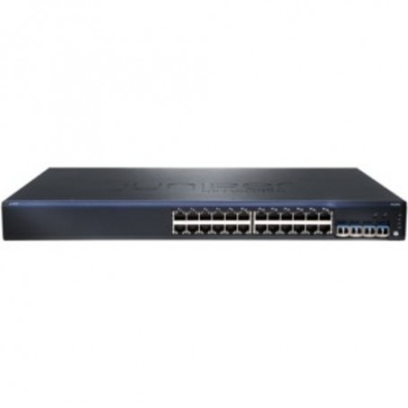Juniper EX2200-24T-4G Layer 3 Switch - 24 x Gigabit Ethernet Network, 4 x Gigabit Ethernet Expansion Slot - Manageable