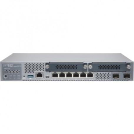 Juniper SRX320 Router - 6 Ports - Management Port - PoE Ports - 4 Slots - Gigabit Ethernet - Desktop SRX320