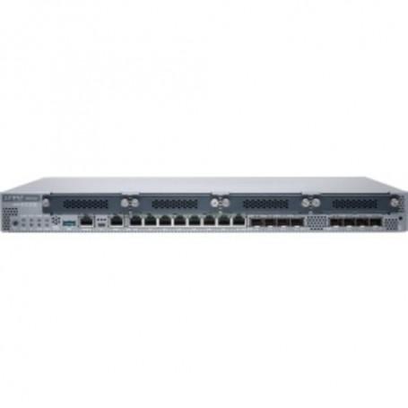 Juniper SRX340 Router - 8 Ports - Management Port - 12 Slots - Gigabit Ethernet - 1U - Rack-mountable