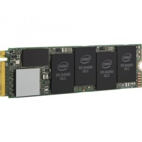 Intel SSD 660p 1 TB Solid State Drive - PCI Express - Internal - M.2 2280 - 1.76 GB/s