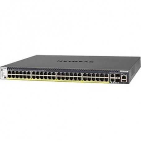 Netgear M4300 48x1G PoE+ Stackable Managed Switch with 2x10GBASE-T  - 50 Ports