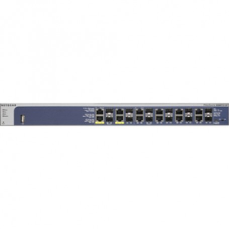 Netgear ProSafe GSM7212F Ethernet Switch - 12 Ports - Manageable - 2 Layer Supported