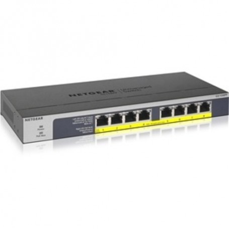 Netgear 8-port Gigabit Ethernet PoE+ Unmanaged Switch (GS108PP) - 8 Ports - 2 Layer Supported