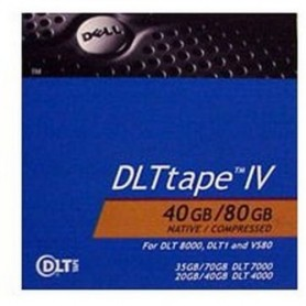 Dell DLT-IV 40GB/80GB Backup Tape (Retail Packaging)