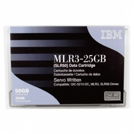 IBM 25GB/50GB SLR50 Backup Tape (Retail Packaging)