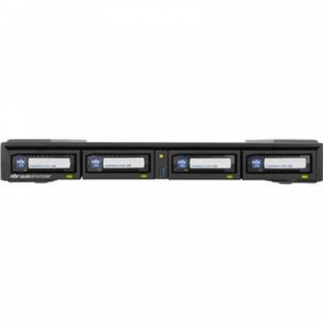 RDX QUIKSTATION4 W/ 16TB 1U RM 4BAY 2X1GB ENET 4X4TB MEDIA KIT