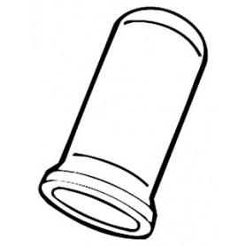 Blackburn 10-511 Crimp Sleeve Connector - 1000 Per Pack