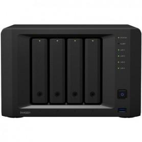 Synology DiskStation DS1821+ SAN/NAS Storage System - AMD Ryzen V1500B Quad-core (4 Core) 2.20 GHz